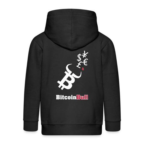 BitcoinBull - Chaqueta con capucha premium niño