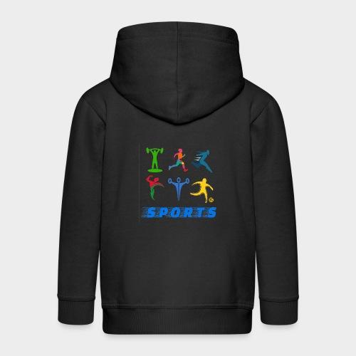 Sports - Kids' Premium Zip Hoodie