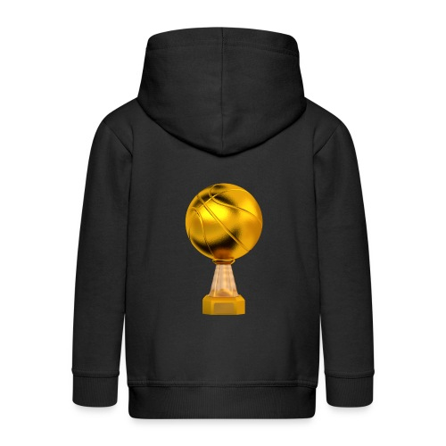 Basketball Golden Trophy - Veste à capuche Premium Enfant