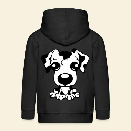 dalmatiner_Puppy - Kinder Premium Kapuzenjacke