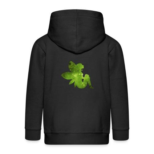 Green fairy - Premium Barne-hettejakke