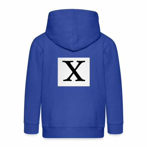 THE X - Kids' Premium Zip Hoodie