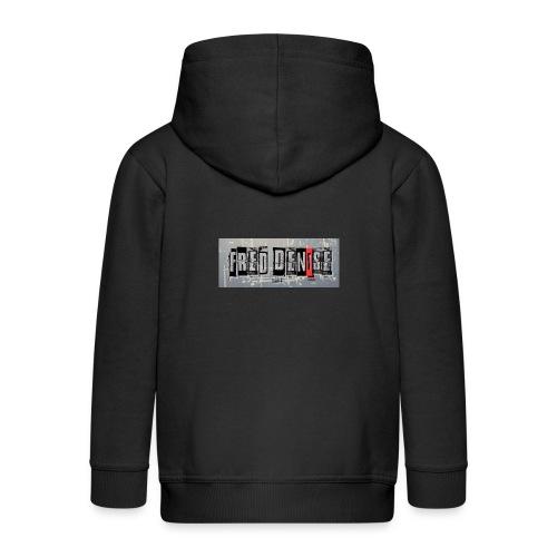 logo freddenise rectangle - Veste à capuche Premium Enfant
