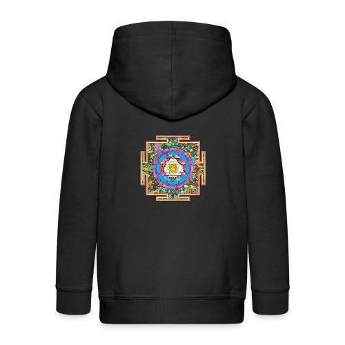 buddhist mandala - Kids' Premium Zip Hoodie