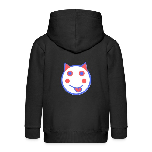 Red White And Blue - Alf Da Cat - Kids' Premium Zip Hoodie
