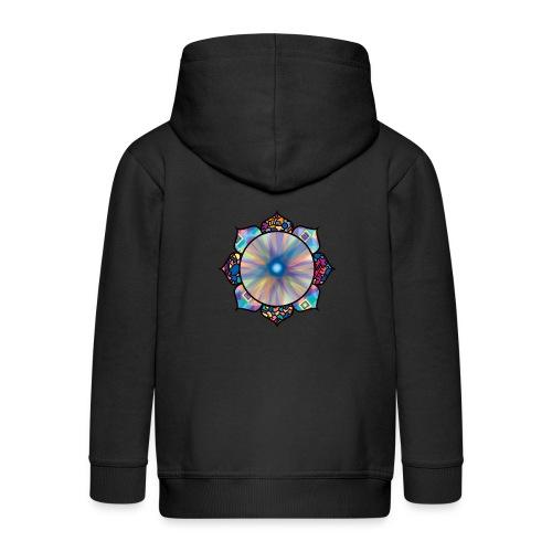 Buddha Flower - Kids' Premium Zip Hoodie
