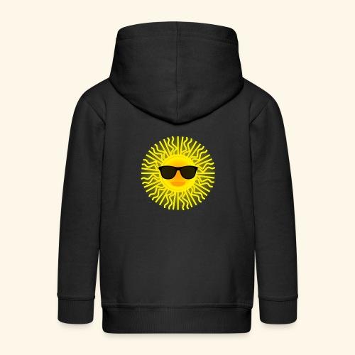Sol de Canarias - Chaqueta con capucha premium niño