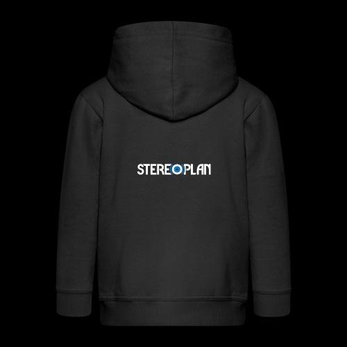 Stereoplan Logotype white - Premium-Luvjacka barn