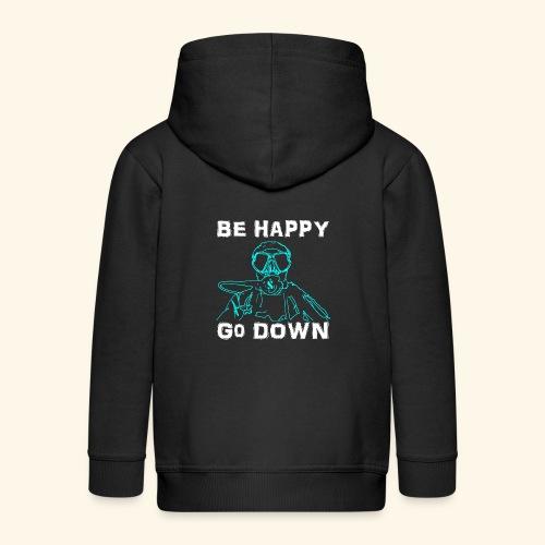 BeHappy001 - Kinderen Premium jas met capuchon