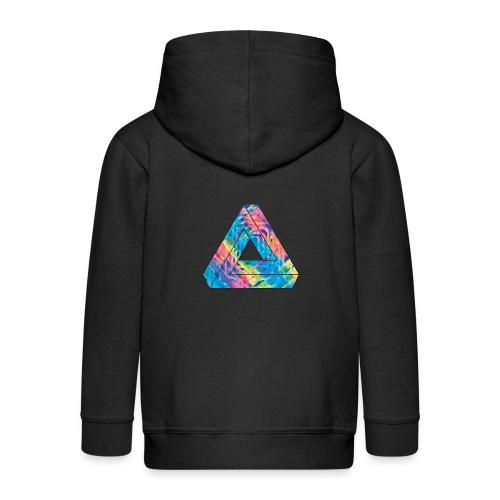 illusion - Kids' Premium Zip Hoodie
