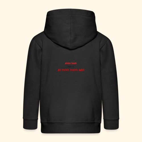 Good bye and thank you - Kids' Premium Hooded Jacket
