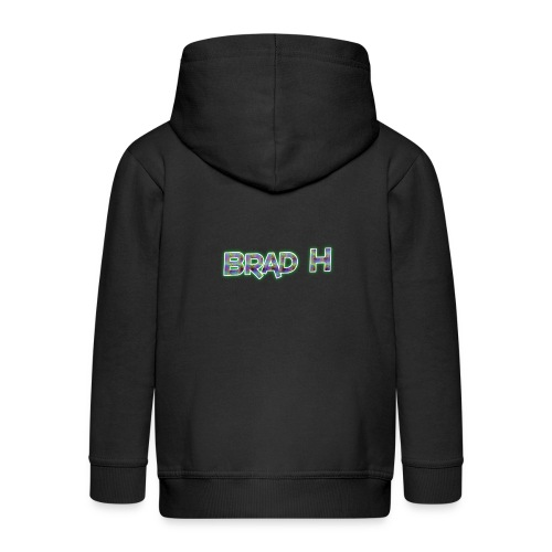 Official Brad H Logo - Kids' Premium Zip Hoodie