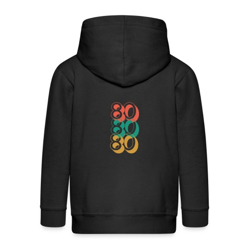 For The Love of The 80's - Kids' Premium Zip Hoodie
