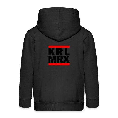 Krl Mrx | Karl Marx | T-Shirt - Kinder Premium Kapuzenjacke
