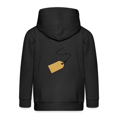label Empty1 - Kinderen Premium jas met capuchon