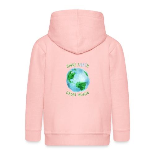 EARTH - Chaqueta con capucha premium niño