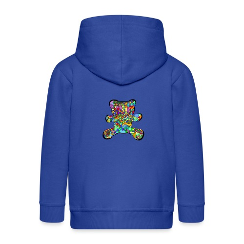 Have a colorful hug - Kids' Premium Zip Hoodie