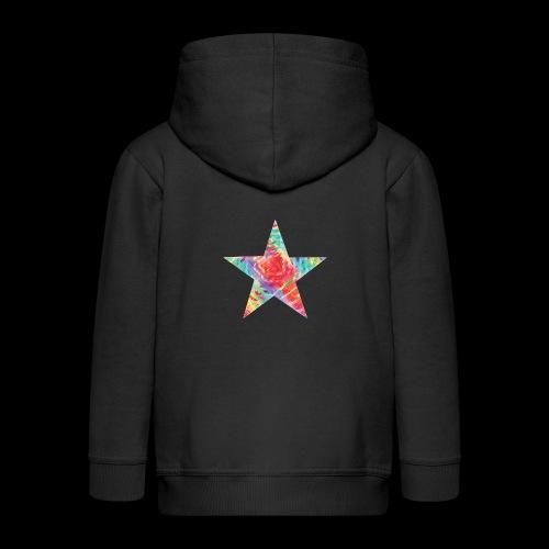 Color star of david - Kids' Premium Zip Hoodie
