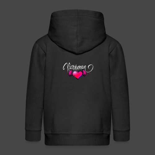 Logo and name - Kids' Premium Zip Hoodie