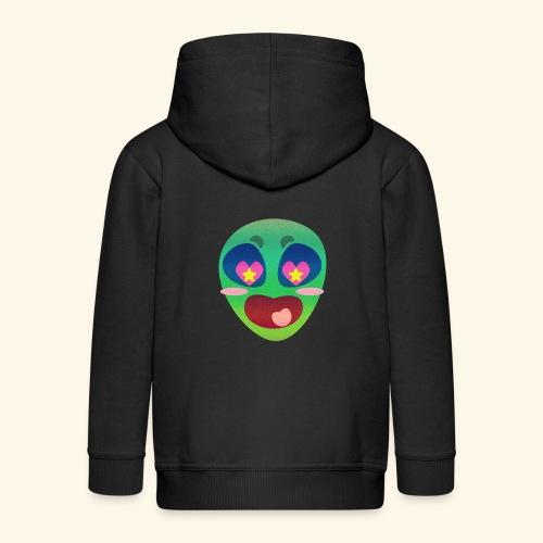 Alien Love - Kids' Premium Zip Hoodie