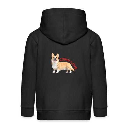 CorgiLove - Kids' Premium Hooded Jacket