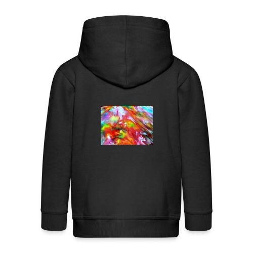 abstract 1 - Kids' Premium Zip Hoodie