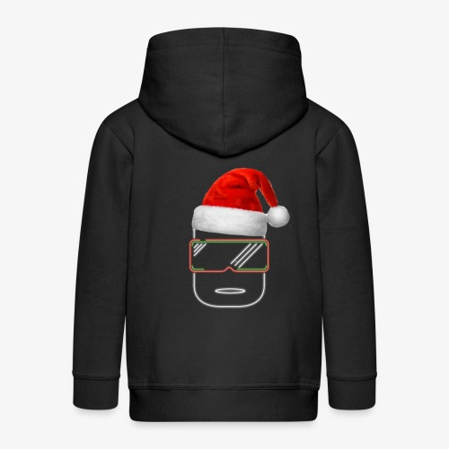 Die Zock Stube - Robot-Head Christmas - Kinder Premium Kapuzenjacke