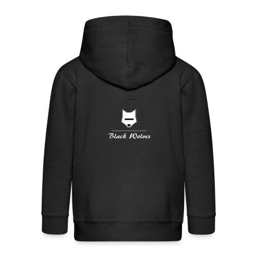 blackwolves Transperant - Veste à capuche Premium Enfant