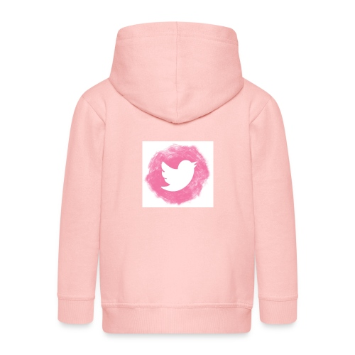 pink twitt - Kids' Premium Zip Hoodie