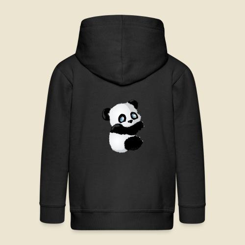 Bébé Panda - Veste à capuche Premium Enfant