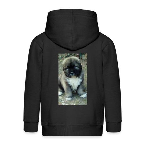 Kolekcja Kazan - Rozpinana bluza dziecięca z kapturem Premium