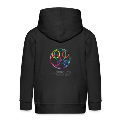 LESCERCLES Logo Colour - Kids' Premium Zip Hoodie