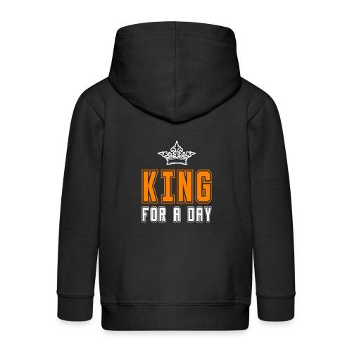 King for a day - Kinderen Premium jas met capuchon