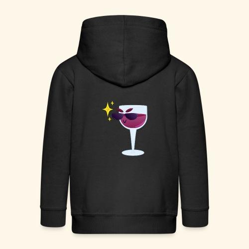 Cool wine - Kids' Premium Zip Hoodie