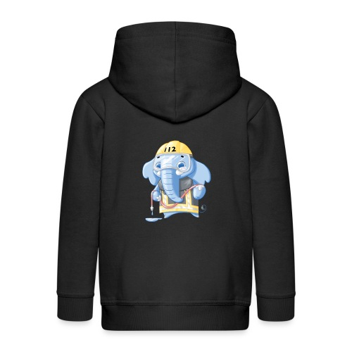 Feuerwehr Elefant - Kinder Premium Kapuzenjacke
