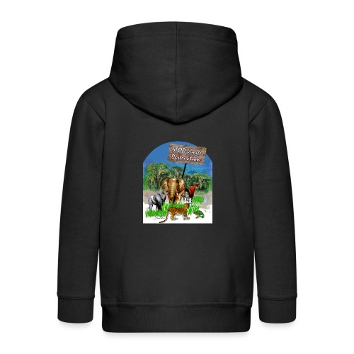 STOP - Jungle Destruction - Kinder Premium Kapuzenjacke