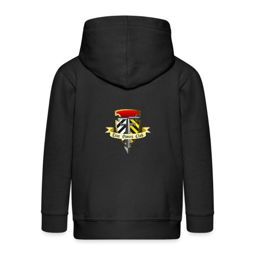 TOC Gothic Clear Background 1 - Kids' Premium Hooded Jacket