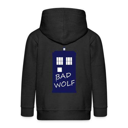 Bad Wolf Tardis - Veste à capuche Premium Enfant