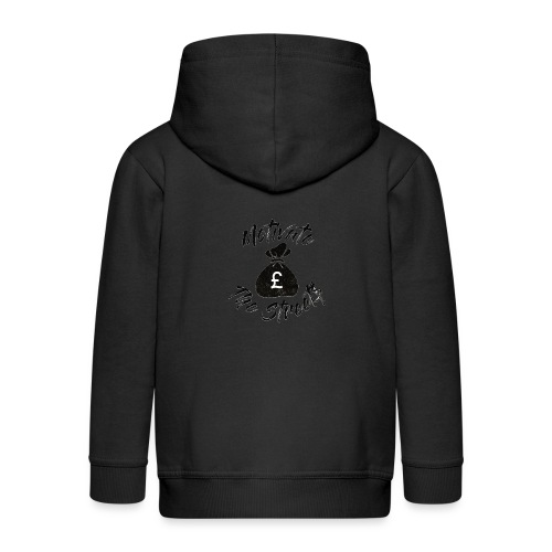 Motivate The Streets - Kids' Premium Hooded Jacket