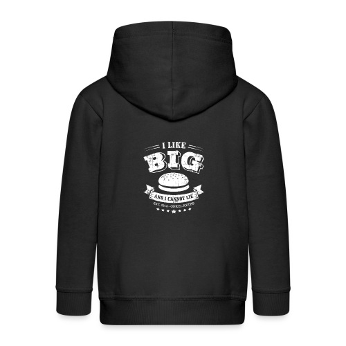I Like Big Buns Shirt - Kinder Premium Kapuzenjacke