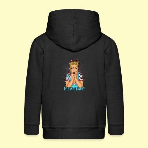 Lindy hop Dance Pop Art T-shirt I Swing dancing - Kinder Premium Kapuzenjacke
