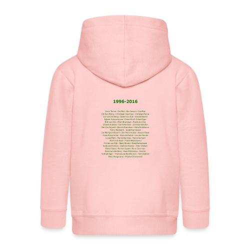 tekening4 - Kinderen Premium jas met capuchon