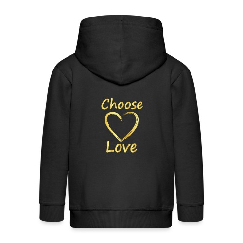 Love - Kids' Premium Hooded Jacket