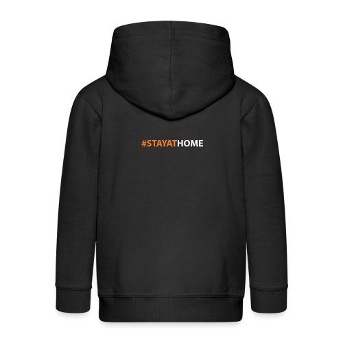 #STAYATHOME - Chaqueta con capucha premium niño