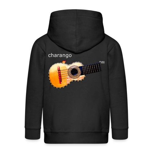 Charango - Chaqueta con capucha premium niño