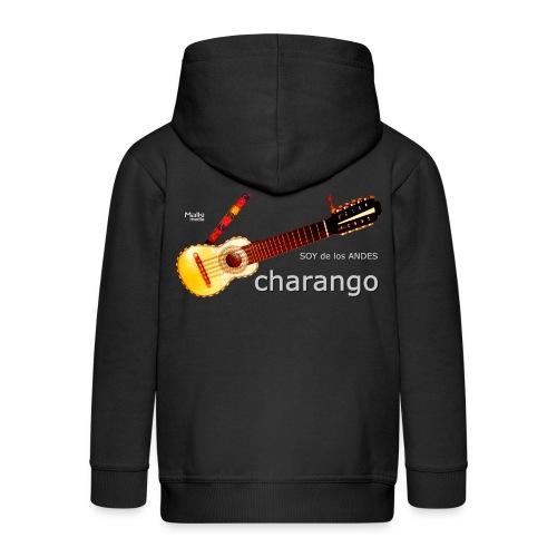 De los ANDES - Charango II - Chaqueta con capucha premium niño