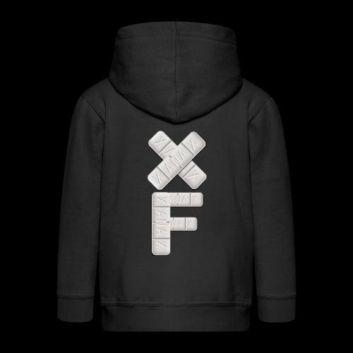 XF Xanax Logo - Kinder Premium Kapuzenjacke