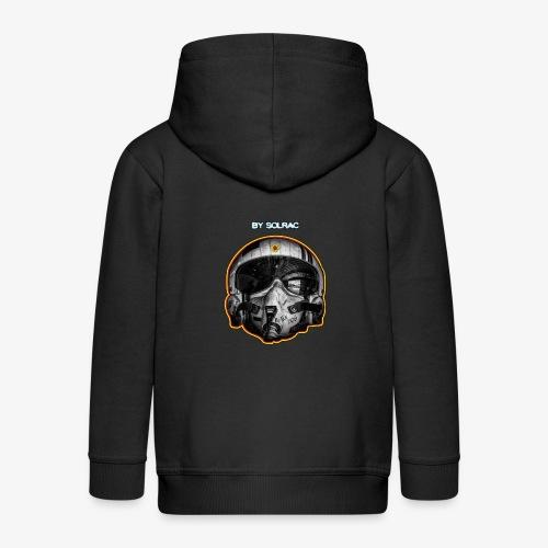 SOLRAC Pilot Air Force - Chaqueta con capucha premium niño
