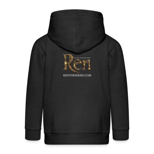 REN MARK UPDATED SEPT16 png - Kids' Premium Hooded Jacket