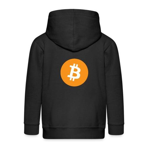 Bitcoin - Kids' Premium Zip Hoodie